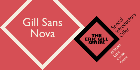 The new, 43-font Gill Sans Nova typeface family by Monotype's George Ryan, brings the classic Gill Sans, one of the most popular typefaces of all time, into the 21st century for use in a wide range of applications, from digital to print. Gill Sans Nova, part of Monotype's new Eric Gill series, expands and enhances the original Gill Sans with additional weights, characters and language support. (Graphic: Business Wire)
