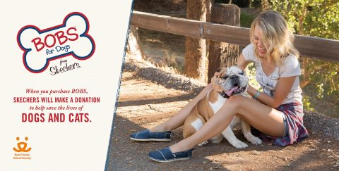 BOBS from Skechers partners with Best Friends Animal Society. (Photo: Business Wire)