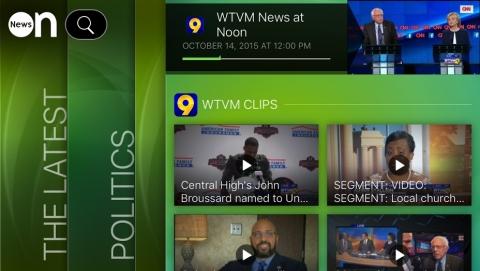NewsON iPhone screenshot. (Photo: Business Wire)