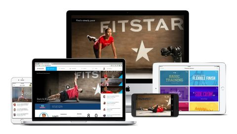 FitStar, a leading digital health and fitness company, has launched its popular mobile, video-based fitness app, FitStar™ Personal Trainer, for Android users in the U.S. Led by football star Tony Gonzalez, FitStar Personal Trainer puts convenience in users' hands by crafting personalized sessions that can be done anywhere, anytime. (Photo: Business Wire)