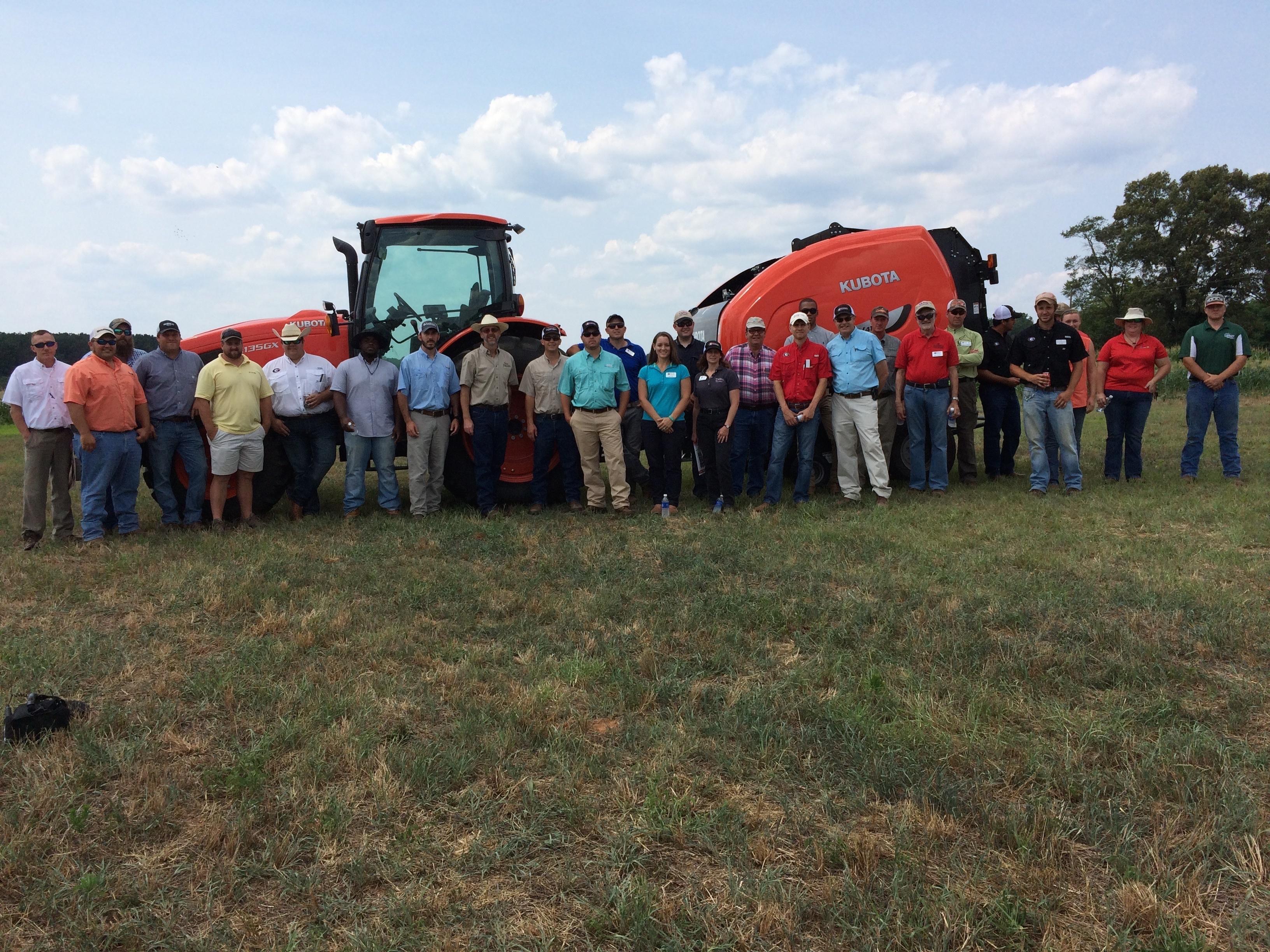 Kubota Provides Valuable Hay Tools Training to University of Georgia ...