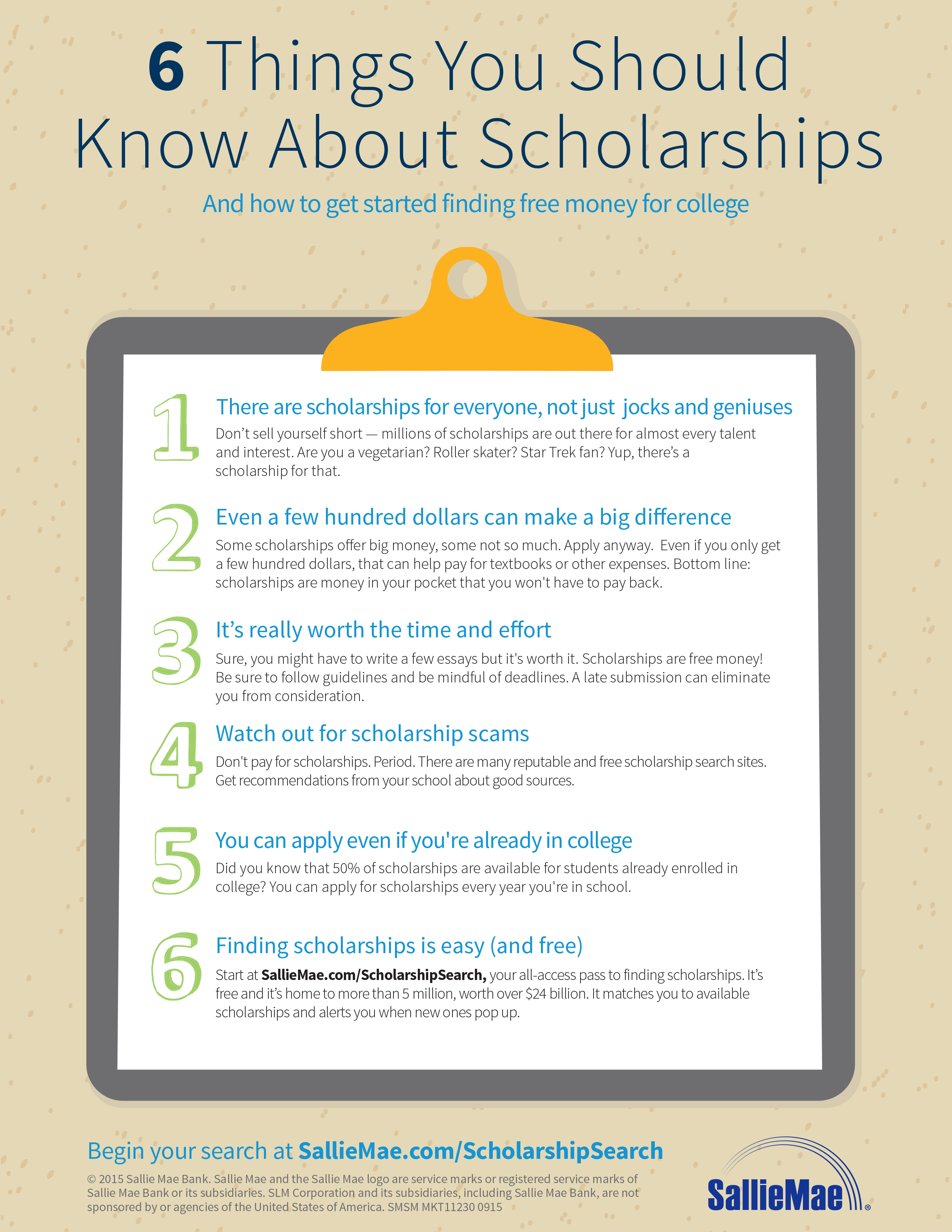 How to get a scholarship 5