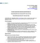 Q2 FY16 Text and Financials