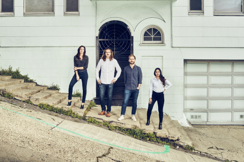 The Collins San Francisco office team. Left to right - Joanna Hobson, Matt Luckhurst, Christian Widlic, Christy Silva. Photo - Cody Pickens.