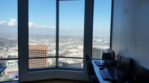 View from Tower's new document review facility (Photo: Business Wire)