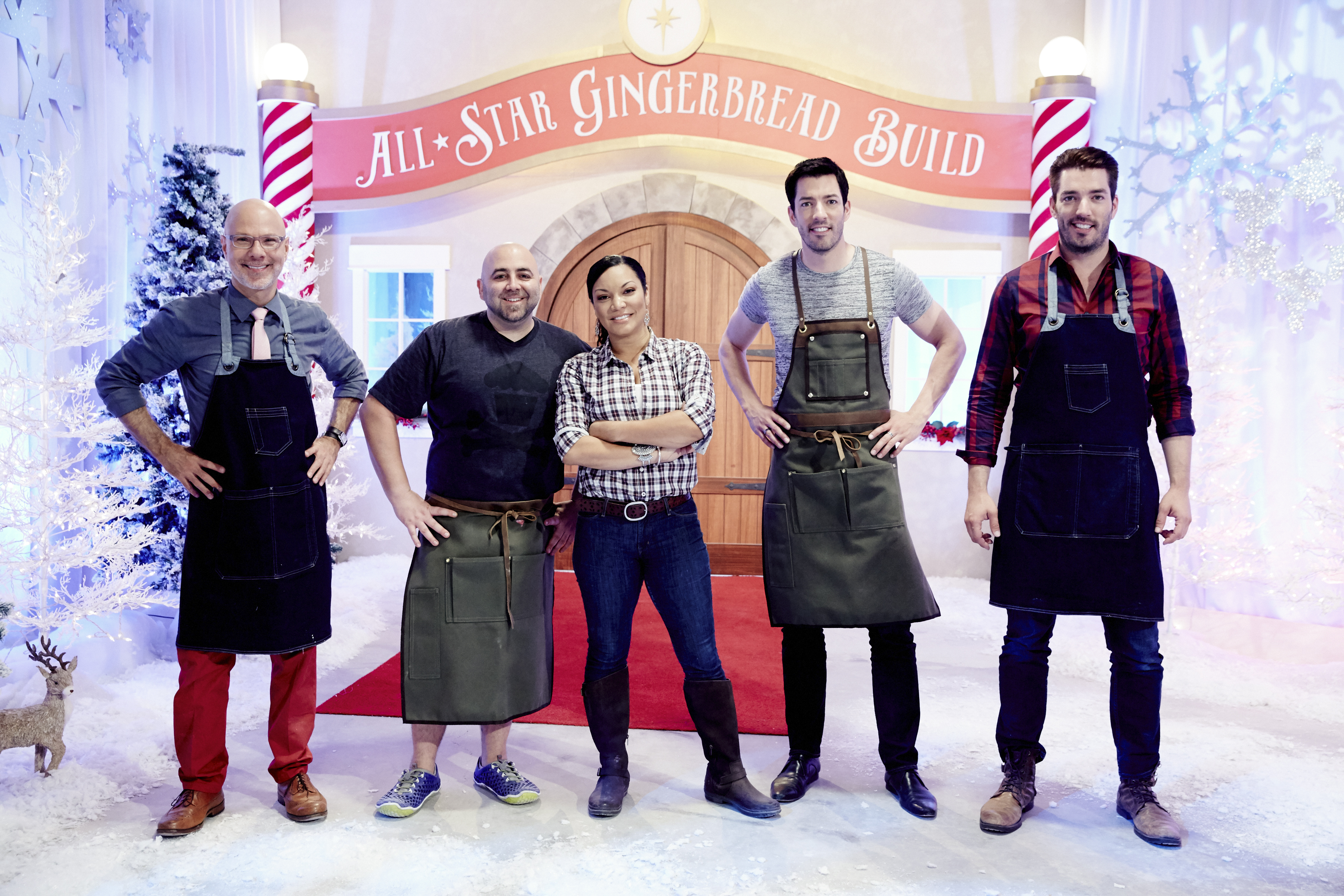 Hgtv and food network simulcast all star gingerbread build nov 28 hgtv and food network simulcast all star gingerbread build nov 28 business wire forumfinder Choice Image