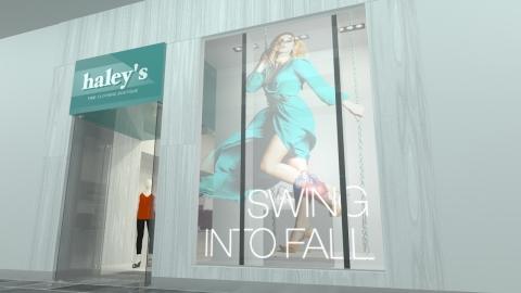 Planar LookThru OLED Transparent Display - Retail (Photo: Business Wire)