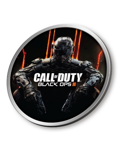 Call of Duty®: Black Ops III Challenge Coin Available at GameStop. (Photo: Business Wire)