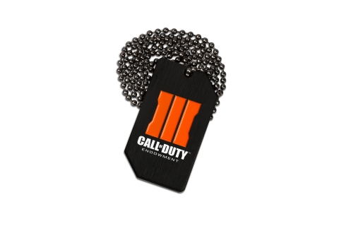 Call of Duty®: Black Ops III Dog Tags Available at Costco. (Photo: Business Wire)
