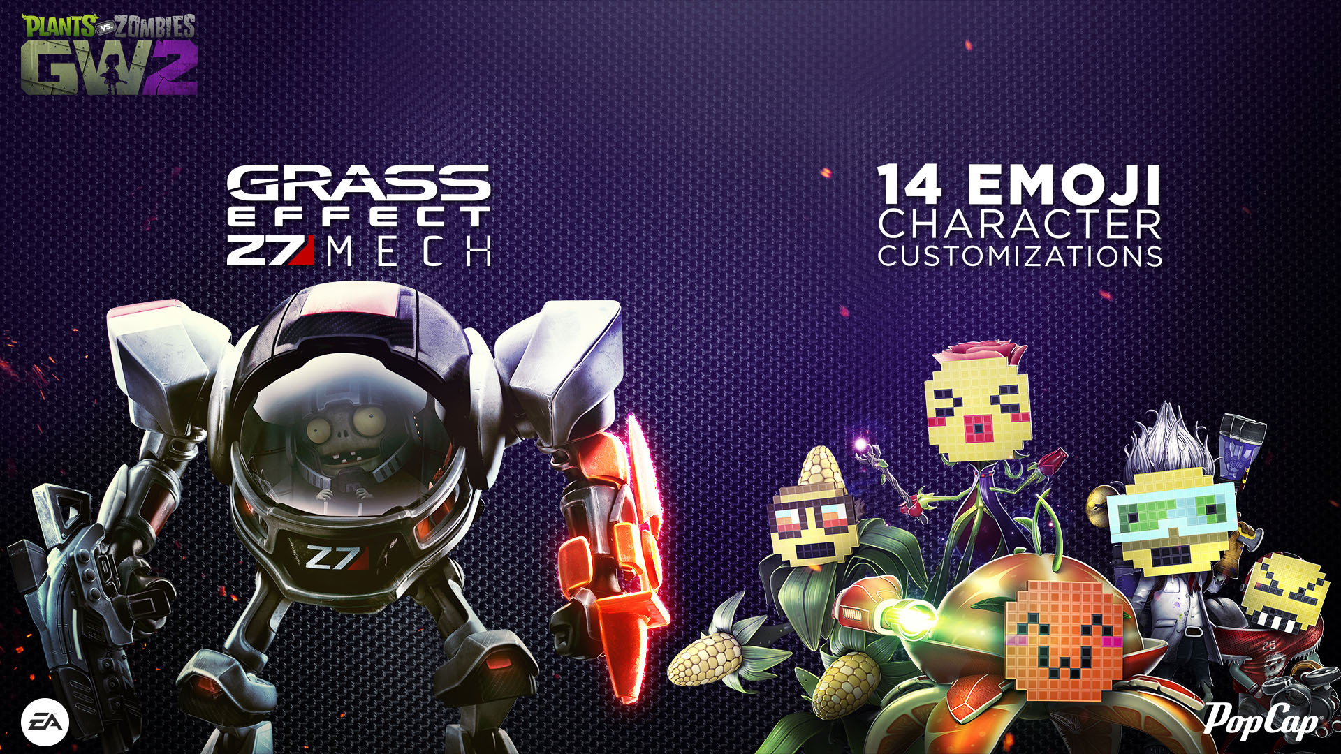 Plants Vs Zombies Garden Warfare 2 Release Date And Grass Effect Mech Revealed Ar12gaming