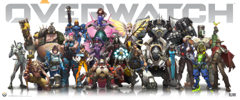 Blizzard Entertainment's Overwatch is a team-based shooter featuring a cast of 21 extraordinary heroes-each with their own unique arsenal of weapons and abilities. (Graphic: Business Wire)