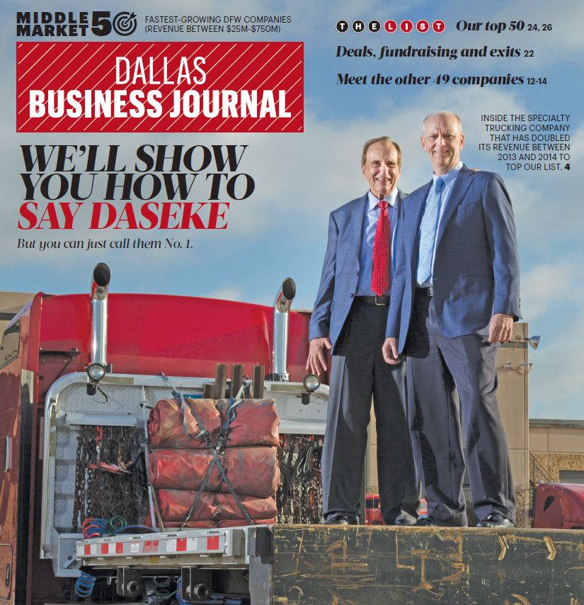 Dallas Business Journal Names Daseke as No. 1 Company in Dallas ...