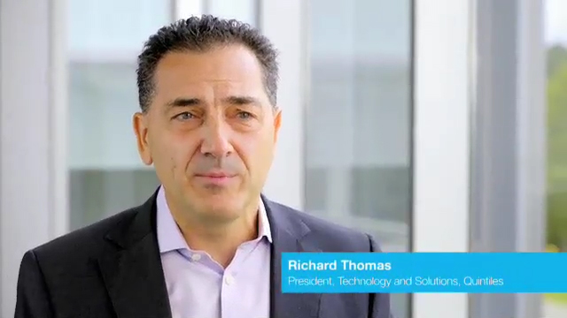 Richard Thomas, President, Technology & Solutions, Quintiles, discusses Quintiles' contributions to ResearchKit.