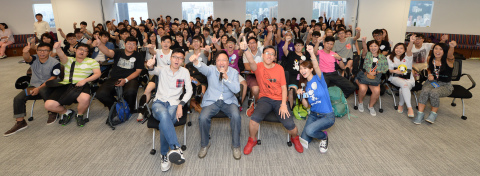 Attendees of Go Goal Life Experience Day showed off their high spirits and looked forward to joining a series of fun and rewarding workshops. (Photo: Business Wire)