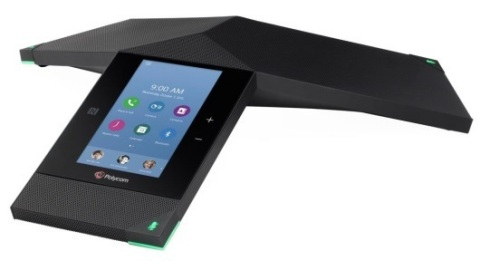 Polycom® RealPresence Trio™, the first smart hub for group collaboration that transforms the company's iconic three-point conference phone into a powerful voice, content-sharing and video system, is now available in select countries. (Photo: Business Wire)