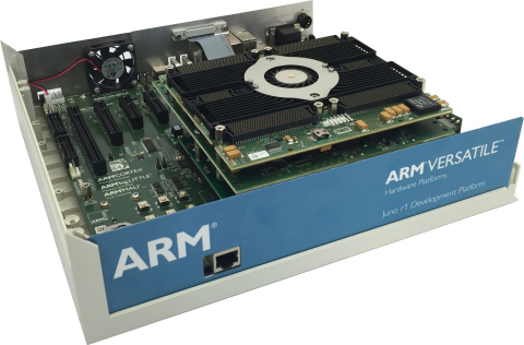 ARM Juno Development Platform with the proFPGA Prototyping System (Photo: Business Wire)