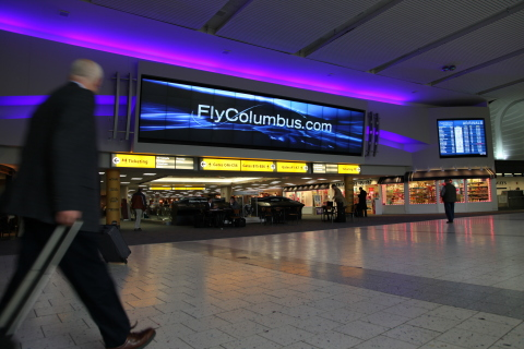 Columbus Regional Airport Authority is providing reliable, high speed Wi-Fi for its 6.7 million passengers annually using Aruba. (Photo: Business Wire)