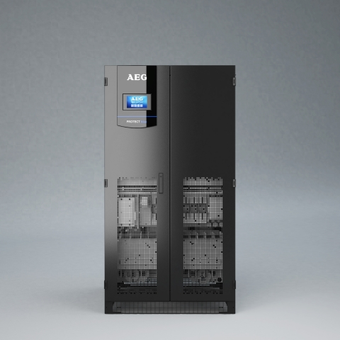 Protect Blue - UPS for Data Centers by AEG Power Solutions (Photo: Business Wire)
