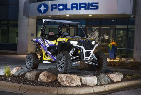 To kick off the Vikings partnership, Polaris is giving away a limited-edition Vikings RZR® 1000 to benefit the United Way, a long-time philanthropy partner of Polaris and the Vikings. (Photo: Polaris Industries Inc.)