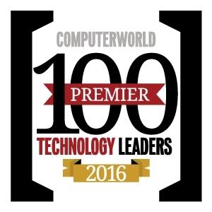 Computerworld 2016 Premier 100 logo