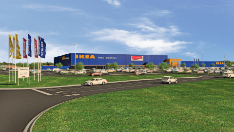 IKEA Submits Plans for Opening an Indianapolis-Area Store Fall 2017 in Fishers, Indiana as Company Expands U.S. Presence (Photo: Business Wire)