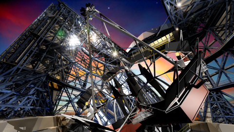 Concept image of the Giant Magellan Telescope (Graphic: Business Wire)