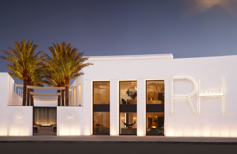 First-of-Its-Kind RH Modern Gallery on Beverly Boulevard in Los Angeles (Photo: Business Wire)