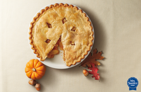 When it comes to Friendsgiving, millennials put friendships first, food second according to a survey conducted by the makers of Mrs. Smith's® Original Flaky Crust Pies. (Photo: Mrs. Smith's Pies)