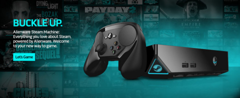Alienware Steam Machine: Everything you love about Steam, powered by Alienware. (Graphic: Business Wire)