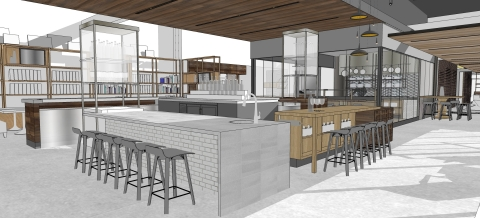 A rendering of the bar at Andaz Scottsdale Resort & Spa (Graphic: Business Wire)