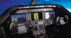 G5000 Integrated Flight Deck in the Beechjet 400A (Photo: Business Wire)