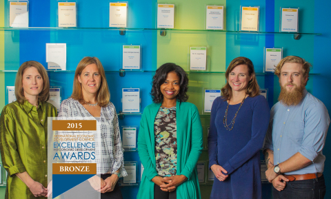 Ann Arbor SPARK received a Bronze Excellence in Economic Development Award for its 2015 project in the category of New Media for communities with populations greater than 500,000 from the International Economic Development Council (IEDC). The honor was presented at an awards ceremony during the 2015 IEDC Annual Conference. (Photo: Business Wire)