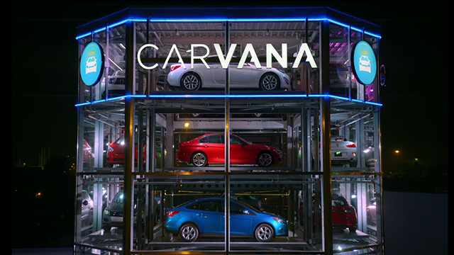 Introducing the world's first fully-automated, coin-operated car vending machine, from Carvana.