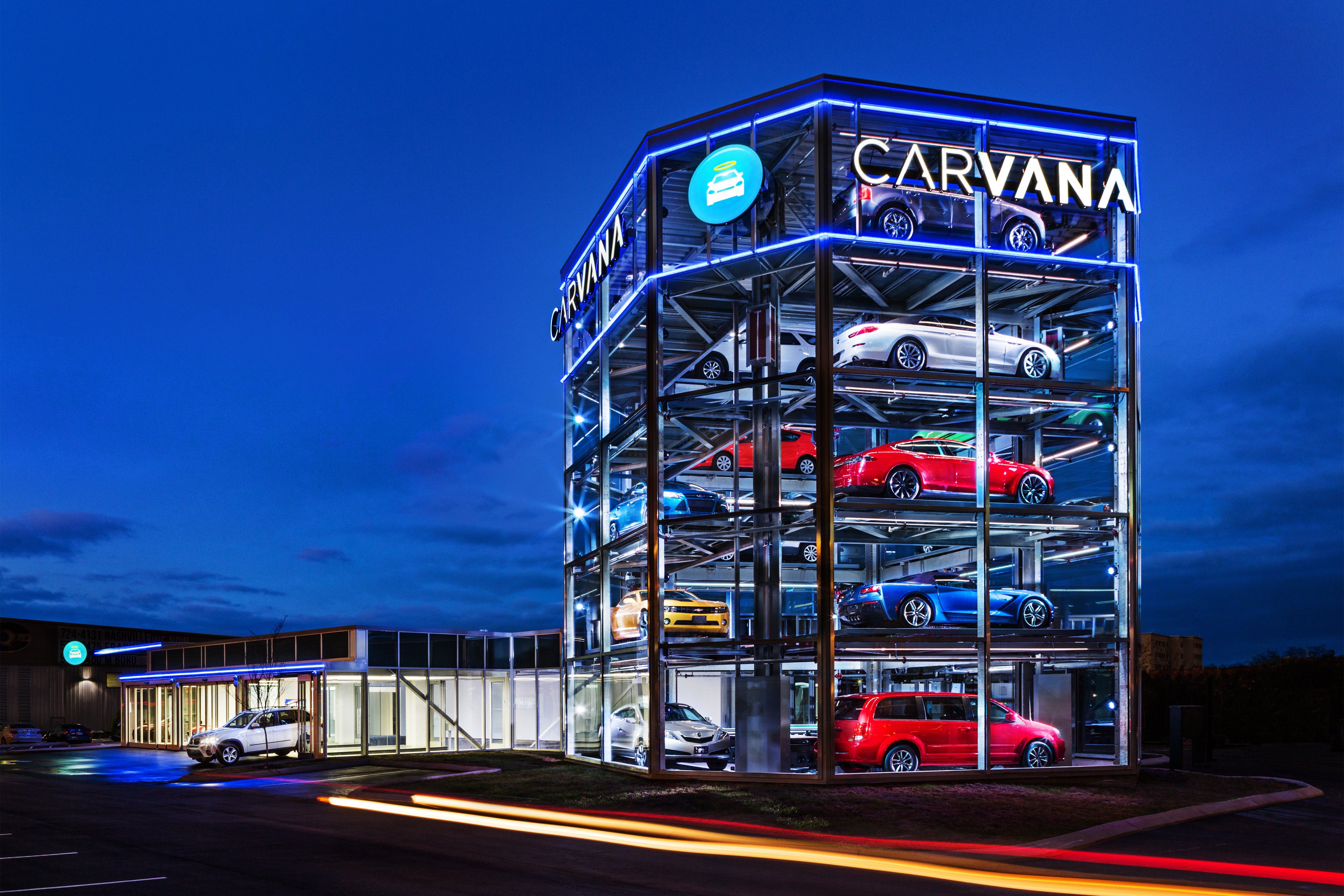carvana opens world s first fully automated coin operated car vending machine business wire carvana opens world s first fully automated coin operated car vending machine business wire