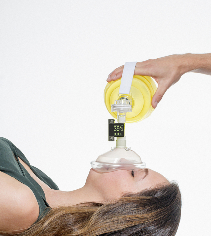 EMMA resuscitator in use. (Photo: Business Wire)