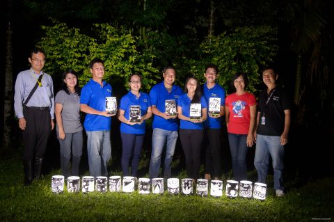 The five volunteers from PMPC with INAM and other affiliates (Photo: Business Wire)
