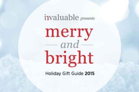 Invaluable launches its inaugural Invaluable Holiday Gift Guide, featuring a curated selection of truly one-of-a-kind gifts being offered at auctions around the world this holiday season. (Graphic: Business Wire)