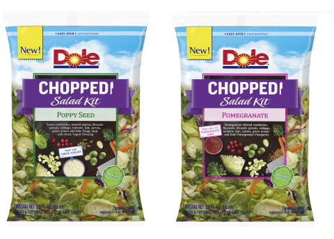 Two new DOLE Chopped Salad Varieties (Photo: Business Wire)