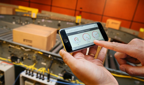 Industrial workers are increasingly turning to mobile devices to improve productivity and collaboration. A new mobility co-innovation project, designed for industrial settings by Rockwell Automation and Microsoft Corp., will be demonstrated at the Automation Fair event in Chicago, Nov. 18 and 19. (Photo: Business Wire)