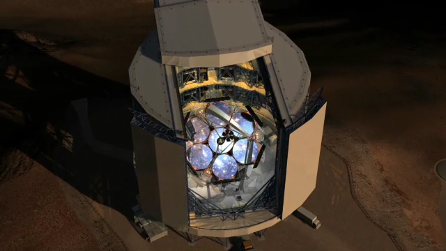 Concept video of the Giant Magellan Telescope