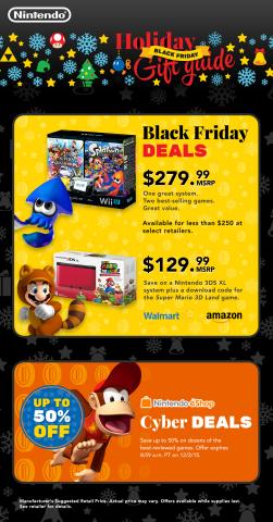 Nintendo Holiday gift guide