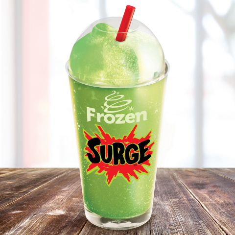 Frozen SURGE(TM) available only at BURGER KING® restaurants (Photo: Business Wire)