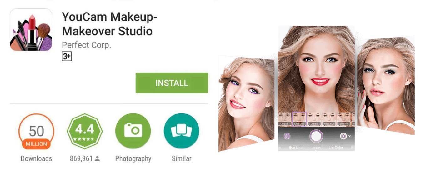 The 1 Makeover App In The World Youcam Makeup Joins Ranks Of