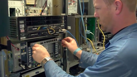 Fortress Solutions Telecom Equipment Repair (Photo: Business Wire)