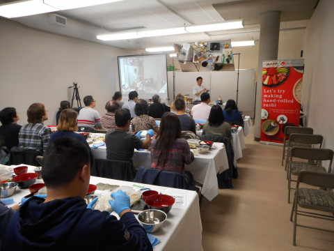 MAFF Sushi Seminar in Vancouver (Photo: Business Wire)