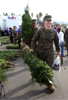 Trees for Troops and FedEx help the holidays arrive for the military by delivering more than 18,000 Christmas trees to U.S. troops and their families. (Photo: Business Wire)