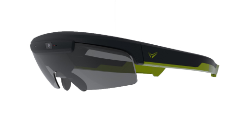 Raptor by Everysight will be equipped with Everysight Beam technology - a unique see-through display technology that crisply overlays information directly in the wearer's line of sight. With Everysight Beam, the lens itself serves as the augmented display, eliminating offset displays found on other smartglasses. Everysight Beam avoids peripheral distractions, reduces eyestrain and eliminates opaque display elements that can obscure the view. In addition to superior optics, smartglasses with Everysight Beam are stylish, lighter and more comfortable. (Photo: Business Wire)