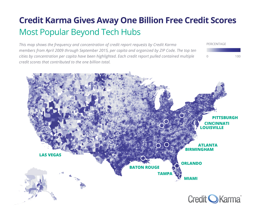 Credit Karma Gives Away Its One Billionth Free Credit Score