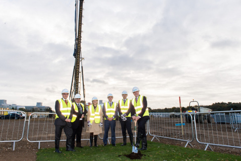 Turf-cutting ceremony at Cell Therapy Catapult manufacturing centre (Photo: Business Wire)