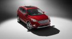 Front three-quarter of 2017 Ford Escape Titanium (Photo: Business Wire)